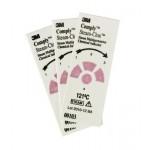 Мультипараметрический химический индикатор для паровой стерилизации 3M Comply Steam-Clox, 121 °С. 00103