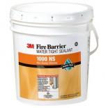 3M 1000 NS Огнезащитный водонепроницаемый герметик для динамических швов на силиконовой основе, 17 литров