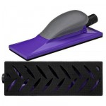 3M Hookit Purple+  05171 Шлифок с Мультипылеотводом, средний, 70 мм x 198 мм, 1 шт./кор.
