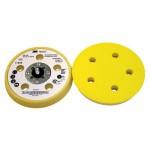 3M Hookit Оправка, 125 мм х 17.5 мм, наружная резьба 5/16-24, мягкая, 5 отверстий, № 77856
