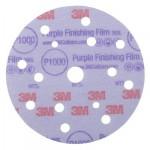 3M Hookit 260L Purple 51157 Круг Абразивный, полировальный, 15 отверстий, Р1000, 150 мм, 50 шт./кор., 5 кор./уп.