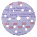 3M™ Hookit™ 260L Purple 51157 Круг Абразивный, полировальный, 15 отверстий, Р1000, 150 мм, 50 шт./кор., 5 кор./уп.