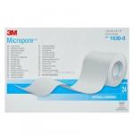 Гипоаллергенный пластырь 3M Micropore белый, 1530-0
