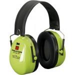 3М™ Peltor™ Optime™ II H520F-460-GB Наушники повышенной видимости Hi-Viz, со складным оголовьем