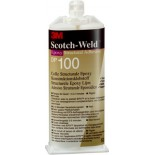 3M™ Scotch-Weld™ DP100 Клей Эпоксидный Двухкомпонентный, прозрачный, 50 мл