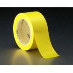 3M 471 Лента на Виниловой Основе, жёлтая, 51 мм х 32,9 м