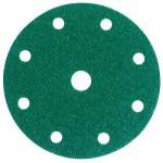 3M™ Hookit™ 245 00313 Круг Абразивный, зеленый, 9 отверстий, Р120, 150 мм, 50 шт./кор., 5 кор./уп.