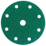 3M™ Hookit™ 245 00315 Круг Абразивный, зеленый, 9 отверстий, Р80, 150 мм, 50 шт./кор., 5 кор./уп.