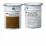 3M Scotch-Weld 3524 B/A Двухкомпонентная Мастика для Заполнения Пустот, цвет черный, 4 кг