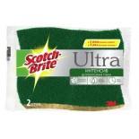 Scotch-Brite® HD-C-2-K Губка Целлюлозная Зеленая, 2 шт.