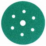 3M Hookit 245 80350 Круг Абразивный, зеленый, 7 отверстий, Р40, 150 мм, 50 шт./кор., 5 кор./уп.