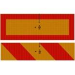 3М™ Комплект Задних Опознавательных Знаков для длиномерного транспорта, размеры 565 х 196 мм, 2 шт в комплекте