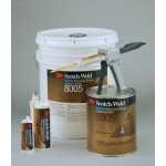 3M™ Scotch-Weld™ DP8005 Клей Акриловый Двухкомпонентный, белый, Ускоритель 2 л