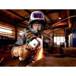 Speedglas® 9100 FX Сварочный Щиток с боковыми окошками SideWindows, со светофильтром Speedglas® 9100V, 541805