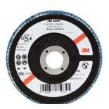 Круг лепестковый торцевой 3M 65034 конический 566A P60 125мм х 22мм