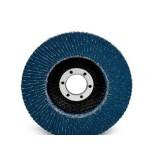 3M 65035 диск шлифовальный лепестковый торцевой конический 566A P80 125мм х 22мм