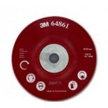 3M 64862 Оправка для фибровых кругов 180мм х 22мм рeбристая M14 и 5/8