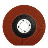 3M 65043 Круг шлифовальный лепестковый торцевой конический 566A P80 180мм х 22мм