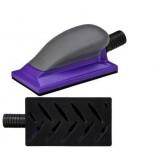 3M 05170 Шлифок Hookit Purple+ с мультипылеотводом, малый, 70 мм x 127 мм, 1 шт/кор