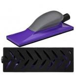 3M 05171 Шлифок Hookit Purple+ с мультипылеотводом, средний, 70 мм x 198 мм, 1 шт/кор