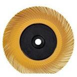 3M 60195 диск Scotch-Brite Bristle BB-ZB тип С с фланцами P80 желтый 150мм
