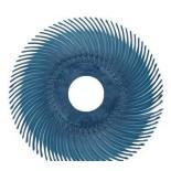 Диск Scotch-Brite 3M 30122Bristle RB-ZB тип С P400 синий 50мм х 9.5мм