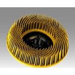 3M 24242 диск Scotch-Brite Bristle BD-ZB торцевой P80 желтый 115мм М14