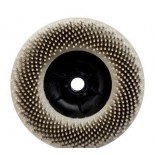 Круг Scotch-Brite Bristle 3M 24539BD-ZB торцевой P120 белый 115мм М14