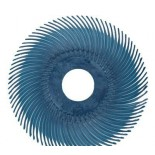 3M 30129 диск Scotch-Brite Bristle RB-ZB тип С P400 синий 75мм х 9.5мм