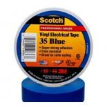 Scotch ® 35, синяя, изоляционная лента высшего класса, 19мм х 20м х 0,18мм