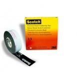 Scotch ® 13, самослипающаяся полупроводящая резиновая лента, 19мм х 4,5м