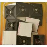 CTA 27 NC Самоклеющаяся площадка, белая, 100 штук в упаковке, 27мм х 27ммх 4мм
