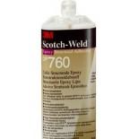 3М SW DP760 Клей двухкомпонентный (50 ml), эпоксидный, белый