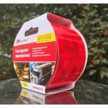 Лента для контурной маркировки, светоотражающая, ГОСТ, красная, 53,5 мм Х 5 м, без упаковки