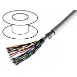 Многоканальный экранированный кабель 3M 3600B/14 для передачи данных 4 жилы 300 ft (91,44 м)