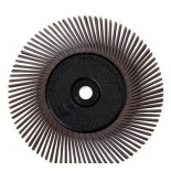 Диск Scotch-Brite Bristle 3M 27603BB-ZB тип А с фланцами P36 коричневый 150мм