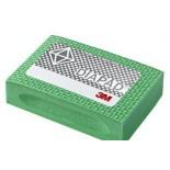 Губка шлифовальная алмазная 3M 6200J N250 зеленая 90мм х 55мм х 25мм